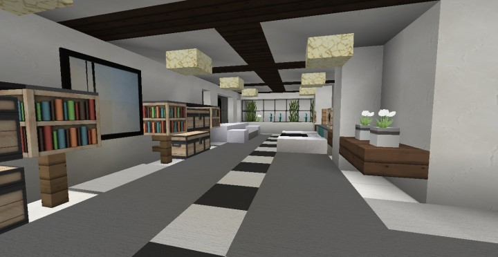 Modern house 5 minecraft project for Modern house projects
