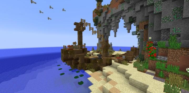 Shantyshy Isle Minecraft Project