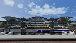 MyGodnessia Airport Minecraft Map & Project