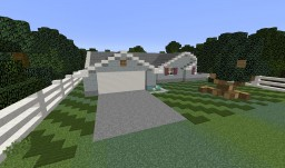Ranch Style House (My Old House) [+ Download] Minecraft Map & Project