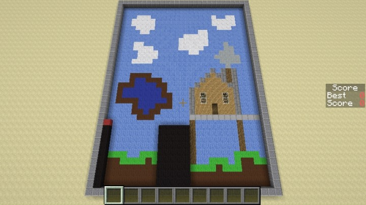 how to make a stick in minecraft