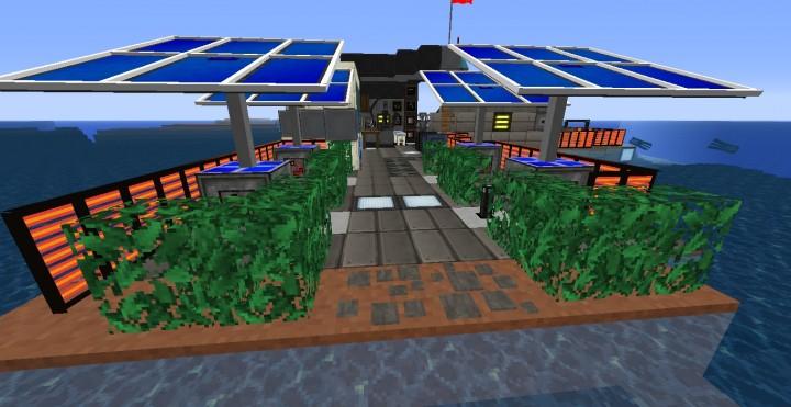 Mini Galacticraft Rocket Base Minecraft Project
