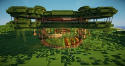 Cozy Nature Base Download Minecraft Project