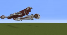 1:2 scale Tantive iv and Republic cruiser Minecraft