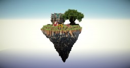 Flying Island! Minecraft Map & Project