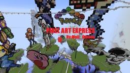 PIXEL ART EXPRESS II [Roller Coaster] [Adventure] [Pixel Art]
