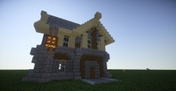 Fantasy Town House Minecraft Map & Project