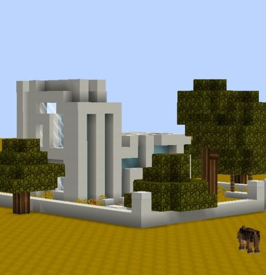 Modern House #1 Light Minecraft Project