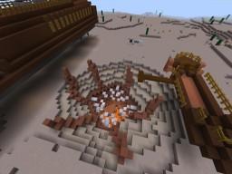 Empire Strikes Block: Jabba the Hutt's Palace Minecraft Project
