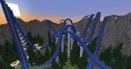 Minecraft Roller Coaster - Blue Peak