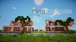 TWIN COLOURS | CONTEMPORARY RESIDENCE BY BENKAVIN Minecraft