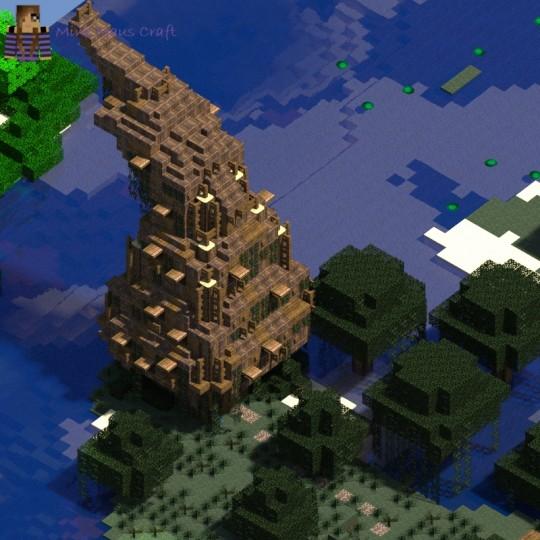 майнкрафт храмы иглу дом ведьмы заброшенная шахта википедия #10