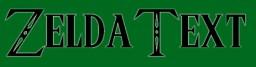 Zelda Text Font