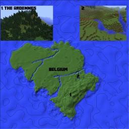 Belgium [Country Rebuilds] Minecraft Project