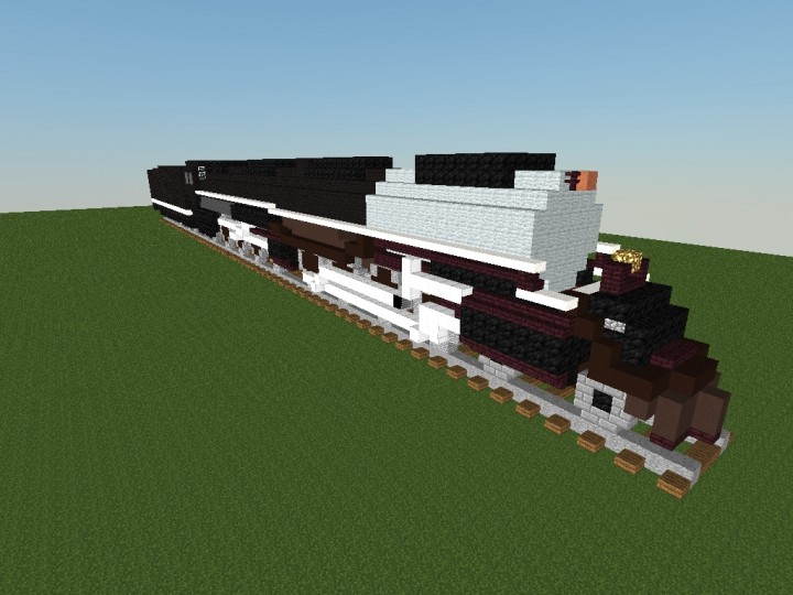 Train: Union Pacific Big Boy 4-8-8-4 Minecraft Project