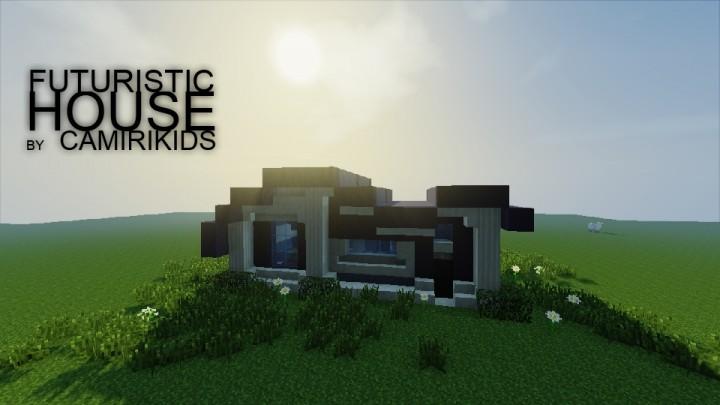 Small Futuristic House Pop Reel Minecraft Map
