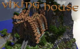 "Minecraft Viking House - Inspired by the movie "" How to train your Dragon "" (+Download)"