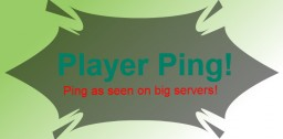 Player Ping! Get player's connection ping time!