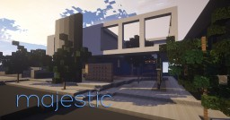 Majestic | Modern house Minecraft Map & Project