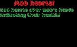 Mob hearts! Minecraft Mod
