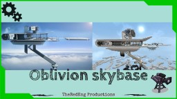 Oblivion skybase map Minecraft Map & Project