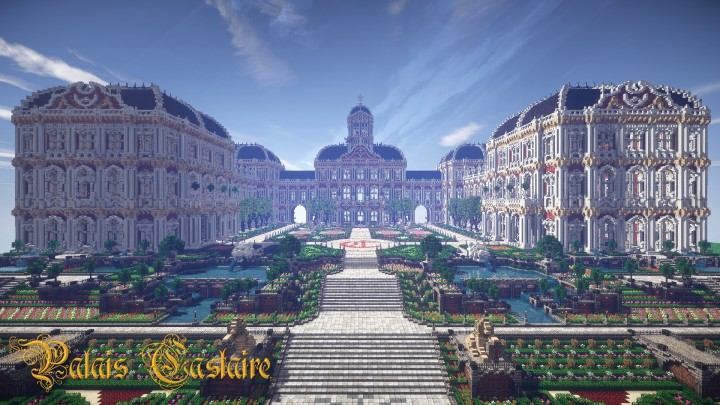 Glaciem Imperial Palace Of Castaire Minecraft Project