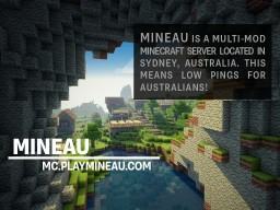 [AUS] MINEAU 1.8 | Factions | Creative | PvE | Minigames