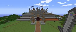 Faction spawn build by hand no creative Minecraft