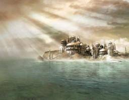 Flying City Minecraft