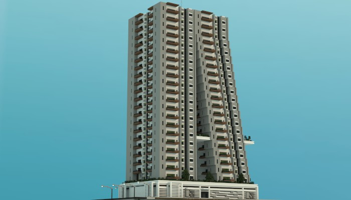 Tilt A Modern Apartment Building Minecraft Project