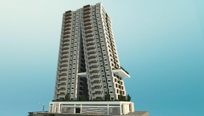 Tilt A Modern Apartment Building Minecraft Project