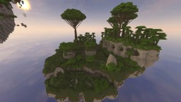 Emesia : The Fallen Island [Dungeon] Minecraft Map & Project
