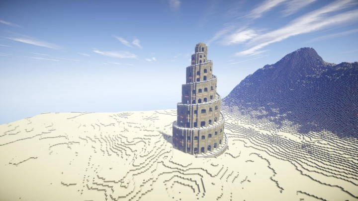 Spiral Tower Minecraft : Spiral tower of babylon minecraft project
