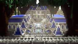 Royal mansion - A hybrid spawn with download! Minecraft Map & Project
