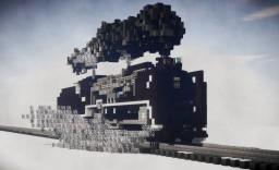Japanese steam locomotive Minecraft