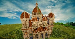 -Medieval Basilica- Minecraft Map & Project