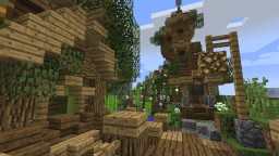 Small Nature Plot Minecraft Map & Project
