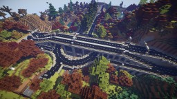 Roads in Minecraft Minecraft Project