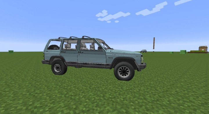 The jeep