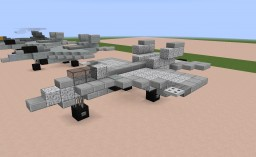 F/A-18E/F Super Hornet US Navy 1:1 Scale Minecraft Map & Project