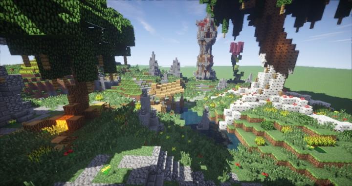 Minecraft Fantasy Building Plotme
