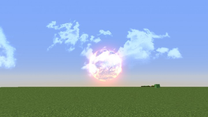 Hd Realistic Space Sky Minecraft Texture Pack
