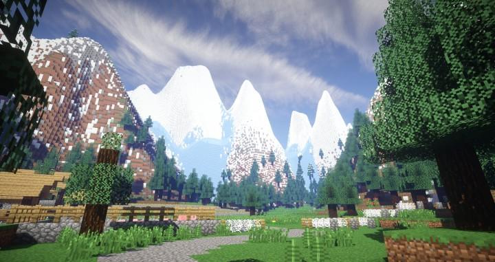 Flans Mod WW Battlefield The Village Of Barrey Minecraft - Minecraft maps fur flans mod