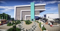 Car showroom & car bazaar Minecraft Map & Project