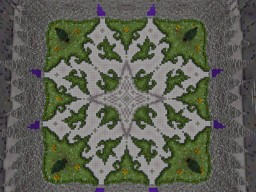 A Server Hub. Minecraft Map & Project
