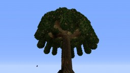 Giant tree! Minecraft Project