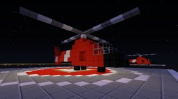 Coast Guard Helicopter Minecraft Map & Project