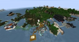 Beerwah Island Minecraft Map & Project