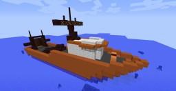 Custom Ship version: Fishing Ship Minecraft Map & Project
