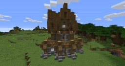 Medieval House (simple) Minecraft Map & Project
